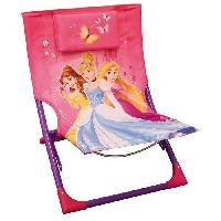 Accessoire Plein Air - Piece Detachee Plein Air DISNEY PRINCESSES Chaise de plage. Transat pour enfany - Fun House