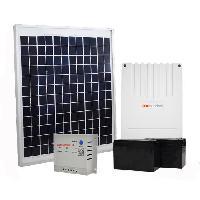 Accessoire Pour Motorisation De Portail Kit solaire pour motorisation de portail et garage 20 W