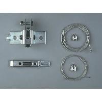 Accessoire Pour Motorisation De Portail Verrouilleur de bas de porte de garage