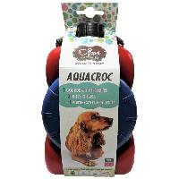 Accessoire Pour Repas AQUACROC Kit de voyage M - Divers coloris - Pour chien