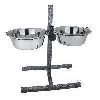 Accessoire Pour Repas Bar a chien - 2x2.75 L - 28 cm