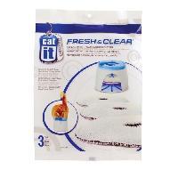 Accessoire Pour Repas FRESH CLEAR recharge 3 filtres pour fontaine