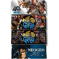Accessoire Retro Stickers Personnages 4 pieces Neo Geo Mini - Snk Playmore