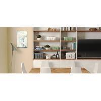 Accessoire Salle De Bain CURVER Bac Infinity 11L Dots - Plastique recyclé - Blanc