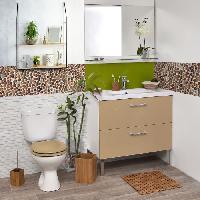 Accessoire Salle De Bain Porte savon - Bambou - H3 x l11 x P7.5 cm - Aucune