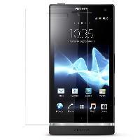 Accessoire Telephone 2 protege-ecrans transparents pour Sony Ericsson Xperia S - ADNAuto