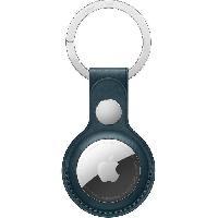 Accessoire Telephone APPLE Porte-clés en cuir AirTag Bleu Intense