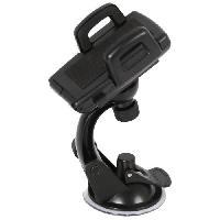 Accessoire Telephone AUTO-T Support smartphones/GPS 360° a ventouse