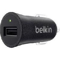 Accessoire Telephone BELKIN Adaptateur allume-cigare - Type USB - Noir