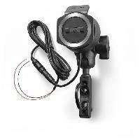 Accessoire Telephone TOMTOM - Accessoire pour RIDER SERIE 40/400 - Kit de fixation avec d'alimentation pour moto