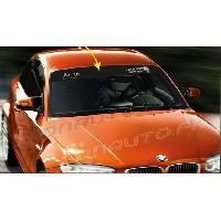 Accessoire exterieur 1 sticker Pare-soleil ADN Auto Drift Squad - 1250 x 190 - Gris sur fond noir ADNAuto