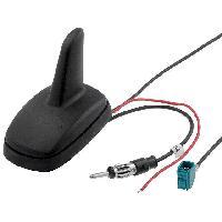 Accessoire exterieur Antenne Aileron de requin AM FM GPS DIN Fakra 12VDC RG174 ADNAuto