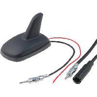 Accessoire exterieur Antenne Aileron de requin AM FM universelle 4.5m 12VDC ADNAuto