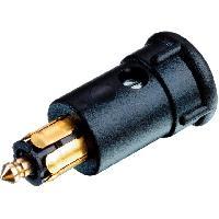 Accessoire interieur Prise allume-cigare - Borne a vis - 12A - Noir - Sans cable - ADNAuto