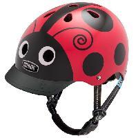 Accessoires - Decoration Velo Casque de Protection Nutty Xs Ladybug - 53-54 cm