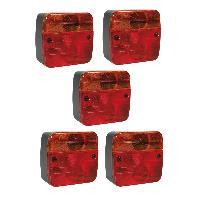 Accessoires Attelage 5 Feux de remorque 4 fonctions