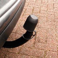 Accessoires Attelage Cache-rotule noir avec anneau - ADNAuto