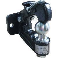 Accessoires Attelage Crochet Attelage Mixte Rotule et Anneau 3.5T Boule 50mm