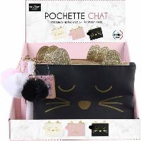 Accessoires Bagage 12x Pochette Chat -display- Dites Le Avec Des Mots