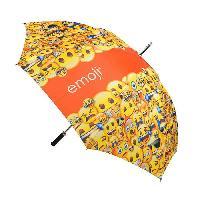 Accessoires Bagage EMOJI Parapluie - 152 cm - Jaune et Orange