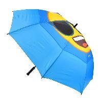 Accessoires Bagage EMOJI Parapluie Long Lunettes de Soleil - 152 cm - Bleu et Jaune
