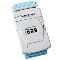 Accessoires Bagage FRANCE BAG Sangle de Bagages a Code Bleu ou Rose
