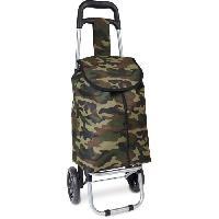 Accessoires Bagage KINSTON Chariot de Course Motif Militaire Vert Kaki