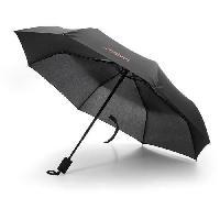 Accessoires Bagage MELVIN Parapluie Auto Ouverture/Fermeture Noir Aucune