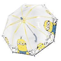 Accessoires Bagage MOI MOCHE ET MECHANT - Parapluie Coupole Manuel - Transparent