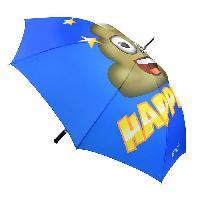 Accessoires Bagage Parapluie Emoji Bleu