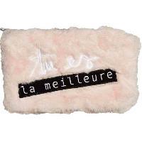 Accessoires Bagage Pochette Peluche Tu Es La Meilleure Cocooning