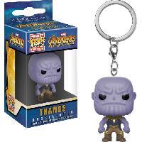 Accessoires Bagage Porte-clé Funko Pocket Pop! Marvel - Avengers Infinity War: Thanos