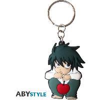 Accessoires Bagage Porte-cles Death Note - L personnage