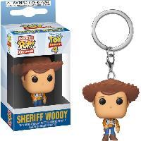 Accessoires Bagage Porte-clés Funko Pocket Pop! Disney :  Toy Story 4 - Woody
