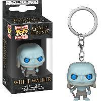 Accessoires Bagage Porte-clés Funko Pocket Pop! Game Of Thrones S10: White Walker (Marcheur Blanc)