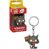 Accessoires Bagage Porte-cles Funko Pocket Pop! Simpsons - Scratchy