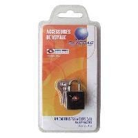 Accessoires Bagage SAVEBAG Cadenas TSA a 2 clefs en métal - Noir