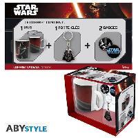 Accessoires Bagage STAR WARS Pack Cadeau Mug Vador + Porte-cles + Badges