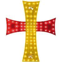 Accessoires Camion Croix lumineuse Espagne 24V 81 Leds