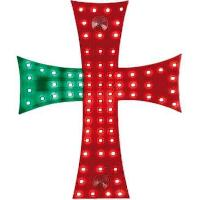 Accessoires Camion Croix lumineuse Portugal 24V 81 Leds