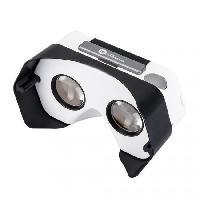 Accessoires Console - Jeux Casque de realite virtuelle Cardboard Plastic VR Noir