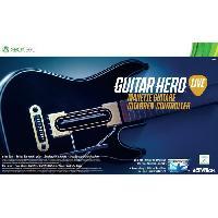 Accessoires Console - Jeux Guitar Hero Live Guitare Seule pour Xbox 360