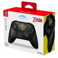 Accessoires Console - Jeux Manette Sans Fil Zelda pour Switch - Hori
