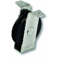 Accessoires De Levage Et D'arrimage Poulie a chape a patte - Acier zingue - Charge 20 kg - A? 40 mm