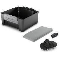 Accessoires De Robot De Nettoyage - Balai Automatique KARCHER Kit animaux - Accessoire associé au nettoyeur mobile OC3 - Une buse. une brosse et une serviette - KÄrcher