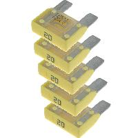 Accessoires Electronique 5x Maxi Fusibles 20A 29mm MAXIVAL - ADNAuto