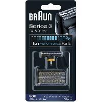 Accessoires Et Pieces - Beaute - Bien-etre Pack BRAUN 30B serie 3