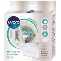Accessoires Et Pieces - Lavage-sechage Wpro WAS606 - Maxi filet de lavage 60 x 60 cm avec fermeture éclair