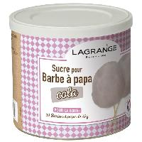 Accessoires Et Pieces - Petit Appareil De Cuisson 380009 Boite de sucre a barbe a papa 500 g - Cola