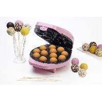 Accessoires Et Pieces - Petit Appareil De Cuisson DCPM12 Appareil a cupcakes - Jusqu'a 12 en meme temps - Rose Pastel